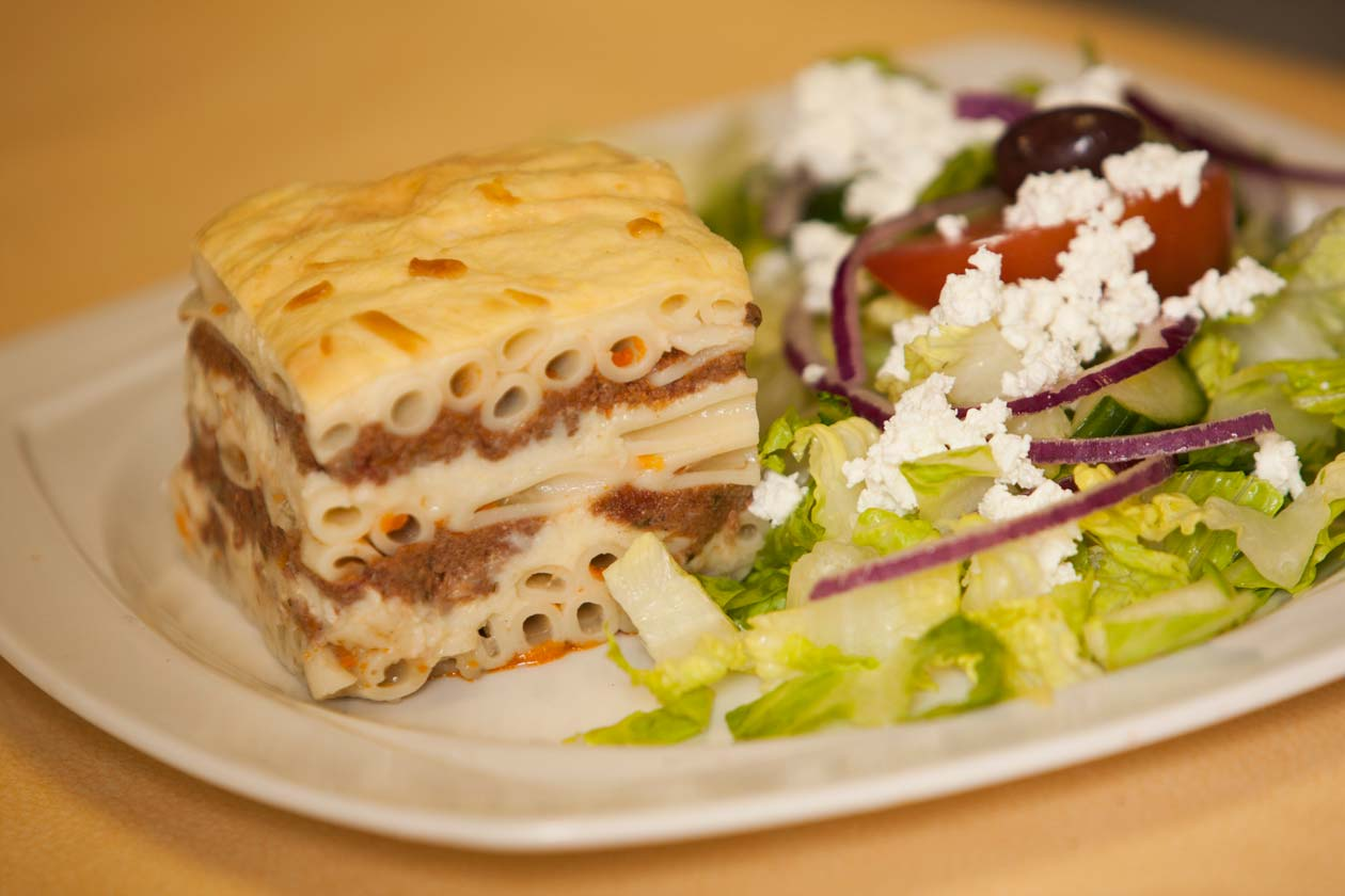 Pastitsio Lunch